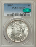 Morgan Dollars: , 1900-O $1 MS66+ PCGS. CAC. PCGS Population: (1105/74 and 130/4+). NGC Census: (971/75 and 27/3+). CDN: $360 Whsle. Bid for ...