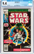 Bronze Age (1970-1979):Superhero, Star Wars #1 (Marvel, 1977) CGC NM 9.4 Off-white to white pages....