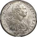 Chile, Chile: Charles IV 8 Reales 1797 So-DA MS62 NGC,...