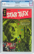 Silver Age (1956-1969):Science Fiction, Star Trek #3 Back Cover Variant (Gold Key, 1968) CGC VG/FN 5.0 Off-white to white pages....