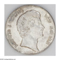 German States:Bavaria, German States: Bavaria. Ludwig I Taler 1834, Bust right/Crown inwreath, KM394, lightly toned, Choice UNC....