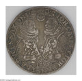 German States:Saxe-Old-Gotha, German States: Saxe-Old-Gotha. Johann Casimir & Johann Ernst IITaler 1595, Two Busts facing each other/Central shield surroundedby 12 sma...