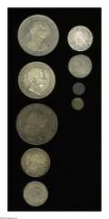 German Lots: , German Lots: Mixed lot as follows: Brandenburg, Albrecht Denar ND 1525-69, Saur-2680, crude VF; Brandenburg, Albrecht-Friedrich Denar 157... (Total: 9 coins Item)