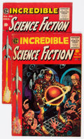 Golden Age (1938-1955):Science Fiction, Incredible Science Fiction #30 and 32 Group (EC, 1955) Condition:Average VG.... (Total: 2 Comic Books)