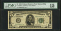 Small Size:Federal Reserve Notes, Fr. 1950-J* $5 1928 Federal Reserve Note. PMG Choice Fine 15.. ...