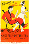 "Movie Posters:Comedy, Sick Abed (A-B Skandias Filmbyra, 1922). Swedish One Sheet (23.25"" X 35.25""). Comedy.. ..."