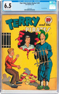 Golden Age (1938-1955):Adventure, Four Color (Series One) #9 Terry and the Pirates (Dell, 1940) CGC FN+ 6.5 Cream to off-white pages....