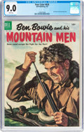 Golden Age (1938-1955):Adventure, Four Color #626 Ben Bowie and His Mountain Men (Dell, 1955) CGC VF/NM 9.0 White pages....