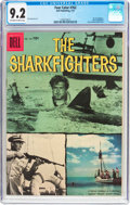 Silver Age (1956-1969):Adventure, Four Color #762 The Sharkfighters (Dell, 1957) CGC NM- 9.2 Off-white to white pages....