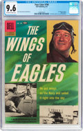 Silver Age (1956-1969):War, Four Color #790 The Wings of Eagles (Dell, 1957) CGC NM+ 9.6 Off-white to white pages....