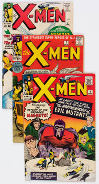 X-Men #2-65 Complete Run Group (Marvel, 1963-70) Condition: Average VG+.... (Total: 64 Comic Books)