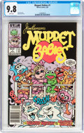 Modern Age (1980-Present):Humor, Muppet Babies #1 (Marvel, 1985) CGC NM/MT 9.8 White pages....