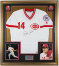 Baseball Collectibles:Uniforms, Pete Rose Signed Jersey....