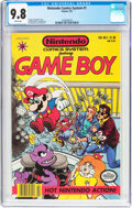 Modern Age (1980-Present):Miscellaneous, Nintendo Comics System #1 Game Boy (Valiant, 1991) CGC NM/MT 9.8 White pages....