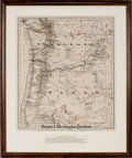 Miscellaneous:Maps, G.W. & C.B. Colton. Colton's Township Map of Oregon &Washington Territory,...