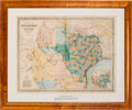 Miscellaneous:Maps, Charles Desilver. Richardson's New Map of the State of TexasIncluding Part of Mexico ...