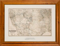 Miscellaneous:Maps, G.W. & C.B. Colton. Map Showing the Atchison, Topeka andSanta Fe Railroad System....