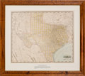 Miscellaneous:Maps, Geo. F. Cram. Railroad and County Map of Texas....