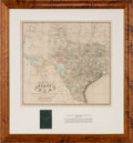 Miscellaneous:Maps, Chas. W. Pressler & A. B. Langermann. Pocket Map of theState of Texas...