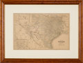 Miscellaneous:Maps, Mast, Crowell & Kirkpatrick. Map of Texas. ...