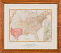 Miscellaneous:Maps, C. Copley. Map of the United States and Texas....
