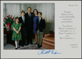 Miscellaneous Collectibles:General, Richard Nixon Signed Christmas Card. ...