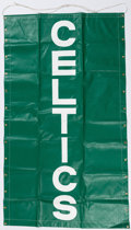 Basketball Collectibles:Others, Boston Celtics Oversized Banner. ...