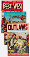 Golden Age (1938-1955):Western, Golden Age Western Group of 3 (Various Publishers, 1950s).... (Total: 3 Comic Books)