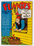Platinum Age (1897-1937):Miscellaneous, The Funnies #13 (Dell, 1937) Condition: GD/VG....