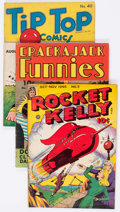 Golden Age (1938-1955):Miscellaneous, Comic Books - Assorted Golden and Silver Age Comics Group of 18 (Various Publishers, 1940s-60s) Condition: Average VG.... (Total: 18 Comic Books)