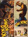 "Movie Posters:Horror, King Kong (RKO, 1933). Uncut Pressbook (20 Pages, 12"" X 16"" Closed& 12"" X 32"" Open).. ..."
