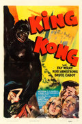 "Movie Posters:Horror, King Kong (RKO, R-1942). One Sheet (27"" X 41"").. ..."