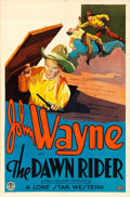 "Movie Posters:Western, The Dawn Rider (Monogram, 1935). One Sheet (27"" X 41"").. ..."