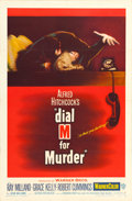 "Movie Posters:Hitchcock, Dial M for Murder (Warner Brothers, 1954). One Sheet (27"" X 41"").. ..."