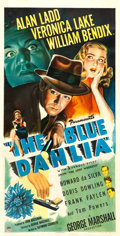 "Movie Posters:Film Noir, The Blue Dahlia (Paramount, 1946). Three Sheet (41"" X 81"").. ..."