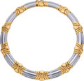 Estate Jewelry:Necklaces, Gold Necklace, Bvlgari. ...