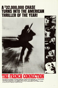 "Movie Posters:Action, The French Connection (20th Century Fox, 1971). Flat Folded OneSheet (27"" X 41"") Style B.. ..."