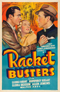"""Movie Posters:Crime, Racket Busters (Warner Brothers, 1938). Other Company One Sheet(27"""" X 41"""").. ..."""