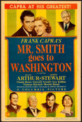 "Movie Posters:Drama, Mr. Smith Goes to Washington (Columbia, 1939). Midget Window Card(8"" X 12"").. ..."