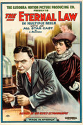 "Movie Posters:Crime, The Eternal Law (Lusobra, 1910). One Sheet (26.75"" X 40.25"").. ..."