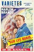 "Movie Posters:Academy Award Winners, On the Waterfront (Columbia, 1954). Belgian (14"" X 21"").. ..."