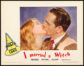 """Movie Posters:Fantasy, I Married a Witch (United Artists, 1942). Lobby Card (11"""" X 14"""").. ..."""