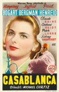 "Movie Posters:Academy Award Winners, Casablanca (Warner Brothers, 1947). Spanish Herald (3.5"" X 5.25"")....."