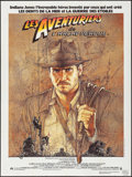 "Movie Posters:Adventure, Raiders of the Lost Ark (CinePoster, 1981). Commercial FrenchGrande (47"" X 63""). Adventure.. ..."