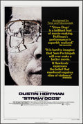 "Movie Posters:Crime, Straw Dogs (Cinerama Releasing, 1972). One Sheet (27"" X 41"") Review Style C & Photos (6) (8"" X 10""). Crime.. ... (Total: 7 Items)"