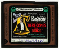 "Movie Posters:Comedy, Here Comes the Bride (Paramount, 1919). Glass Slide (3.25"" X 4""). Comedy.. ..."