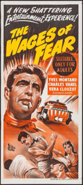 """Movie Posters:Foreign, The Wages of Fear (BEF, Late-1950s). Australian Daybill (13"""" X 30""""). Foreign.. ..."""