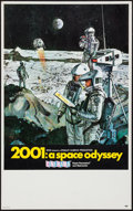 "Movie Posters:Science Fiction, 2001: A Space Odyssey (MGM, 1968). Midget Window Card (8"" X 14"").Science Fiction.. ..."