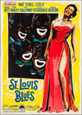 "Movie Posters:Drama, St. Louis Blues (Paramount, 1958). Italian 4 - Fogli (55"" X 78"").Drama.. ..."