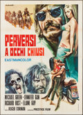 "Movie Posters:Exploitation, Naked Angels (Prestige, 1971). Italian 4 - Fogli (55"" X 78"").Exploitation.. ..."